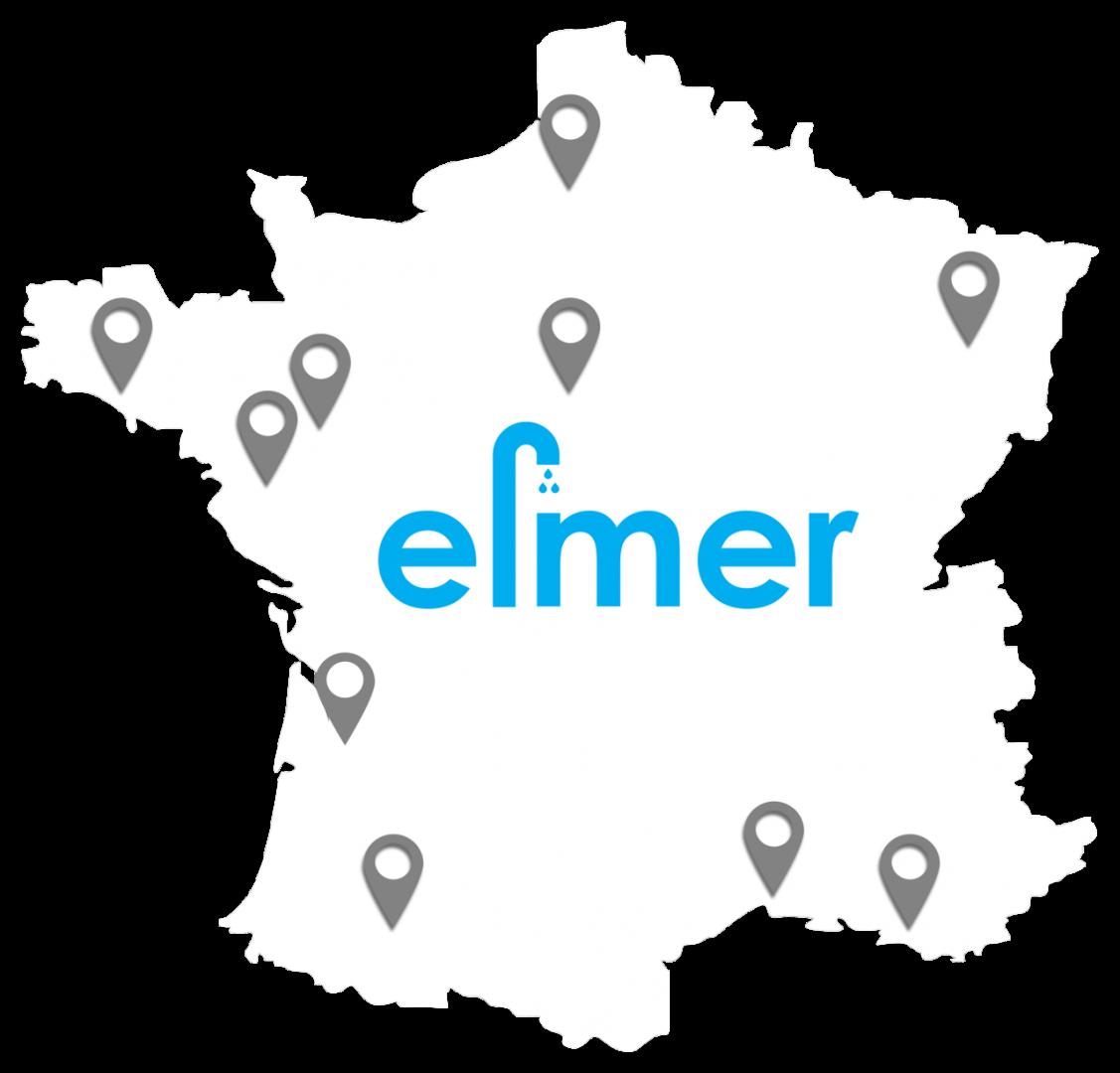Visitez la douche Elmer dans un showroom près de chez vous