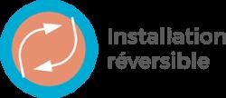 Installation réversible